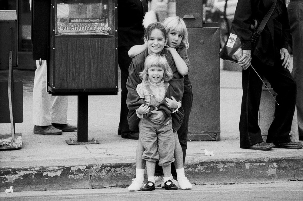Three Children, San Diego, California, 1982