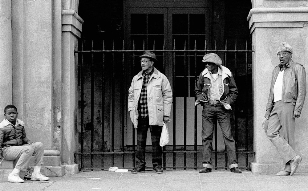 Group of Four, French Quarter, New Orleans, 1985