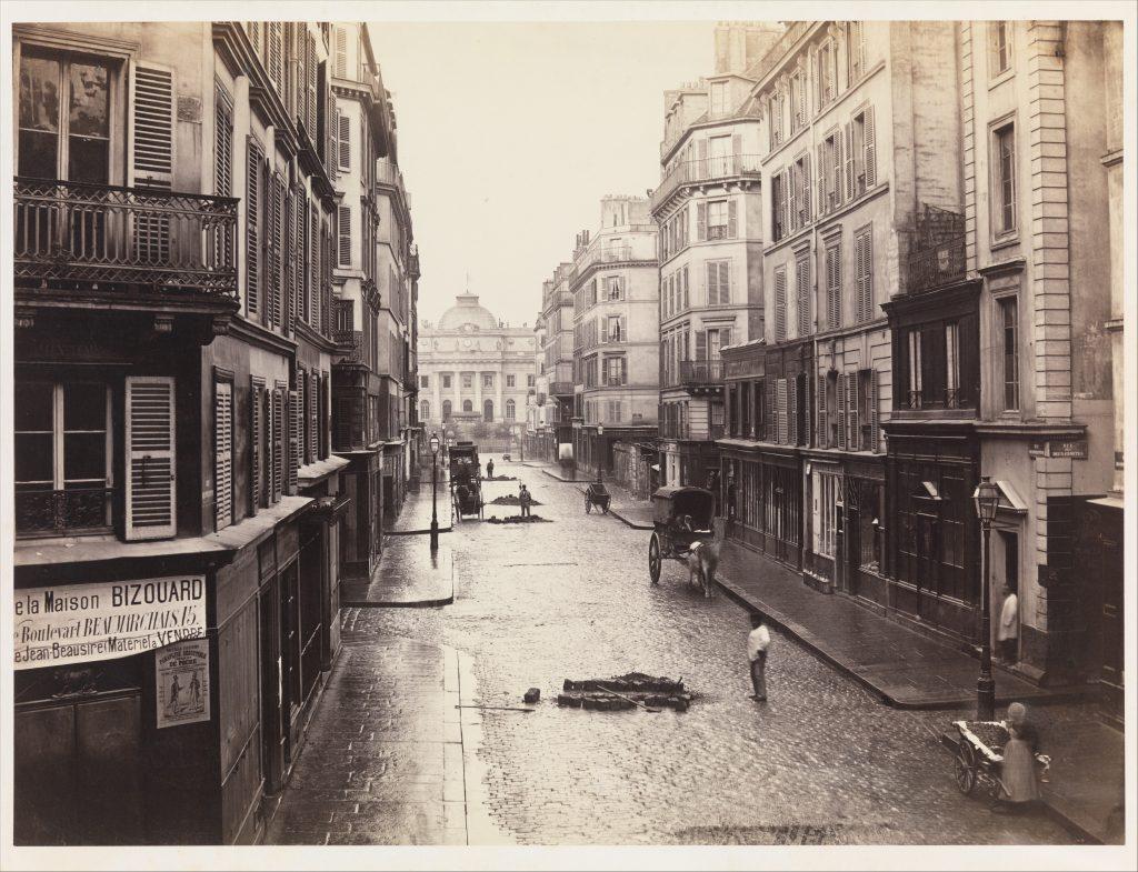 Charles Marville, Rue de Constantine, 1865 Met Museum (Source)