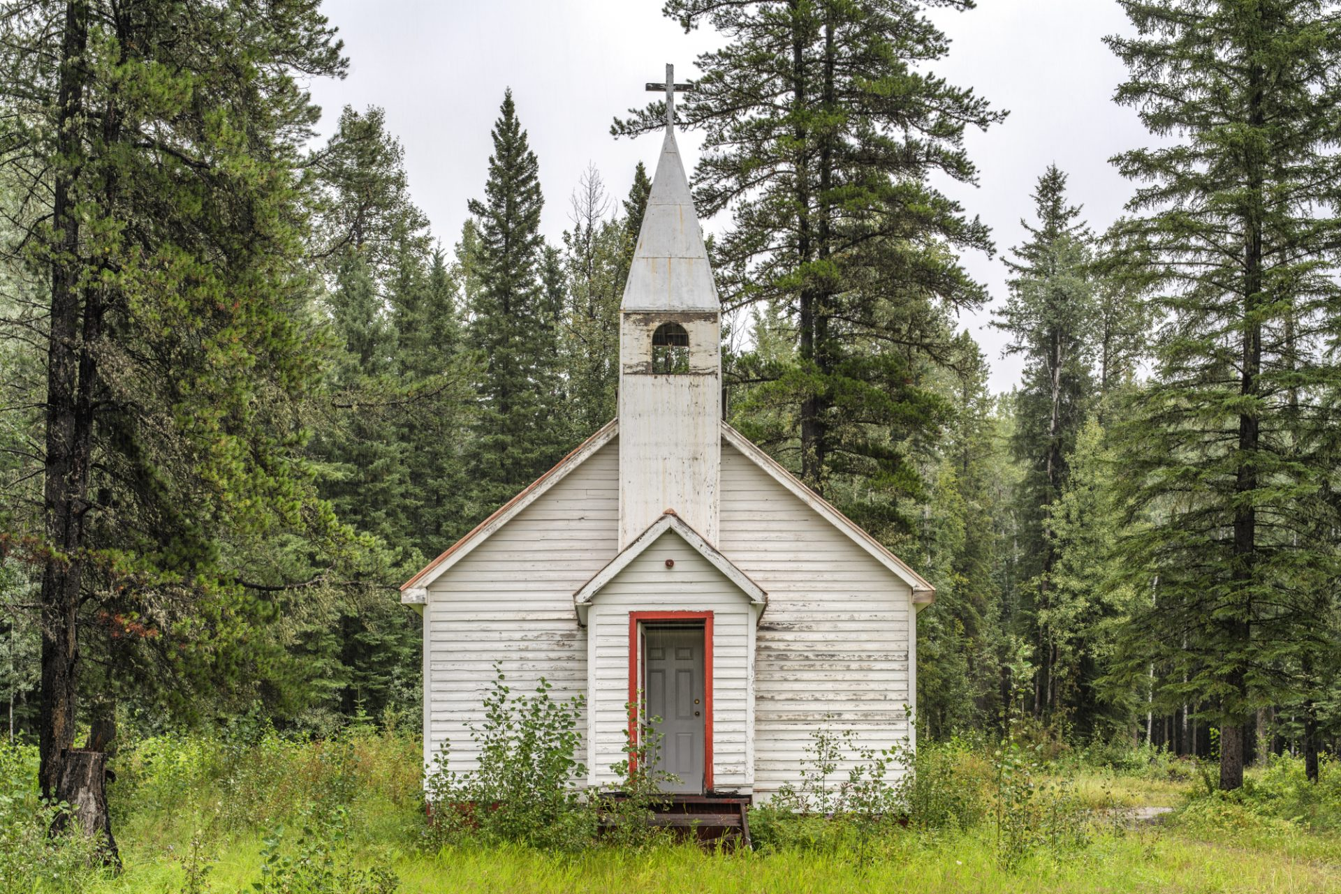 Church, Prophet River, British Columbia, August 8, 2019