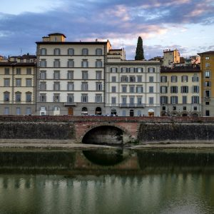 Arno River, Florence, Italy, 2018