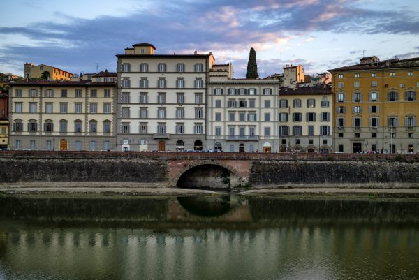 Arno River Florence Italy Tuscany Color Archival Pigment Print