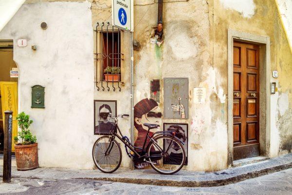 Street Corner, Florence, Italy, 2018