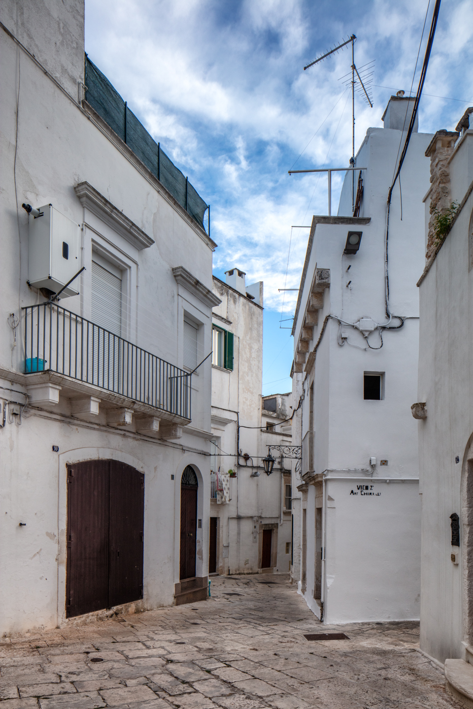 Houses, Martina Franca, August 14, Italy, 2018