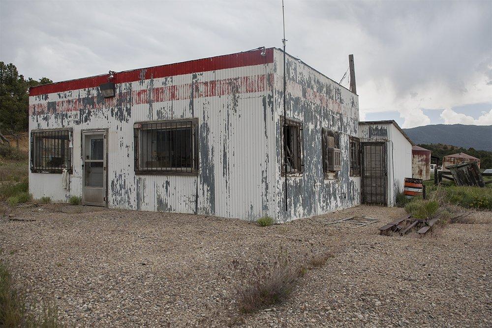 Gas Station, Regina, New Mexico, June 9, 2007