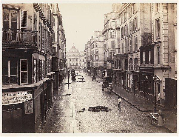 Charles Marville, Rue de Constantine, ca. 1865