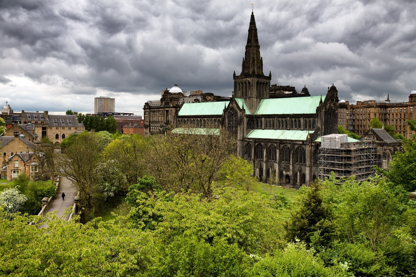 St Mary's Cathedral, Glasgow, May 13, 2007