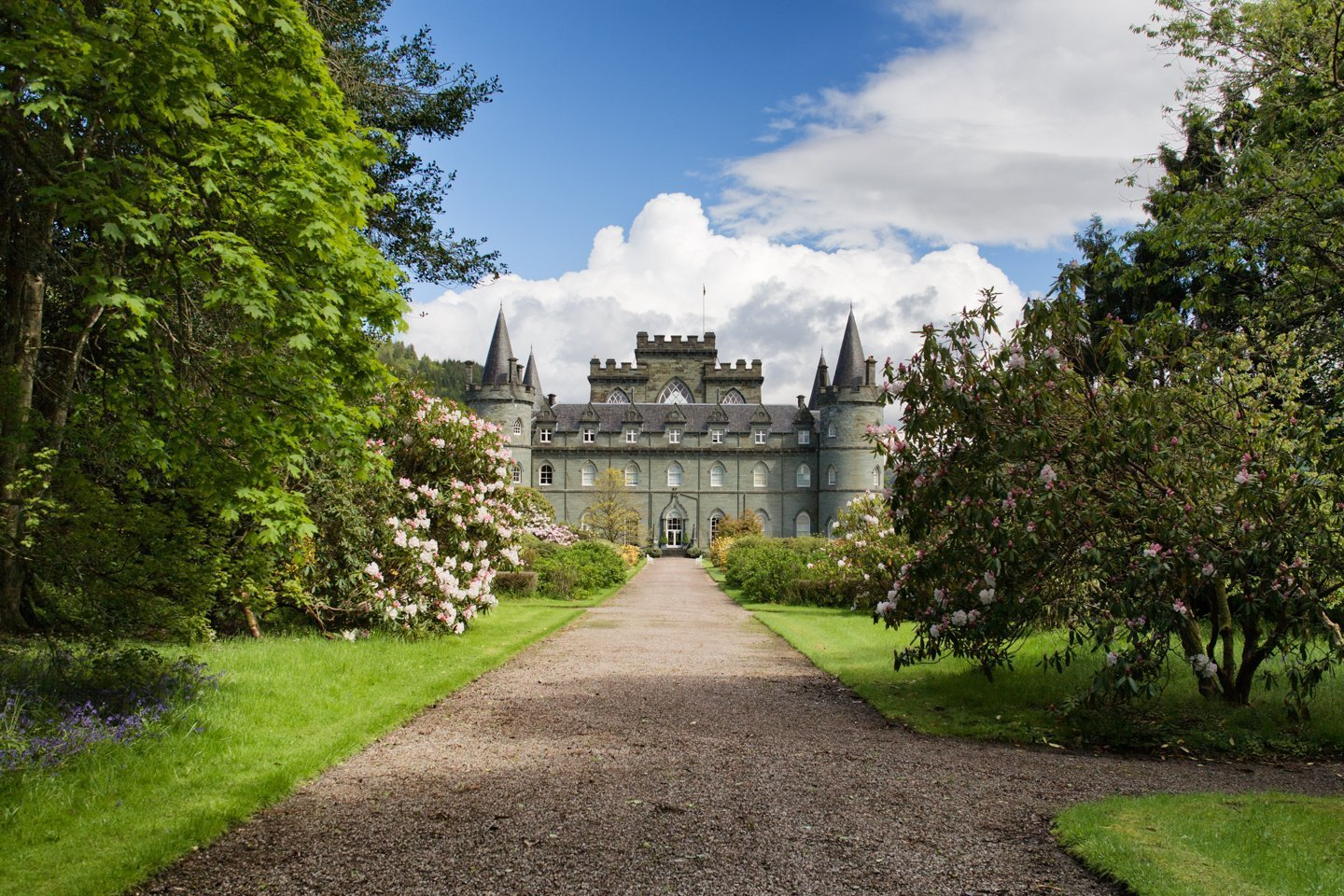 Inveraray Castle, Scotland, May 14, 2007