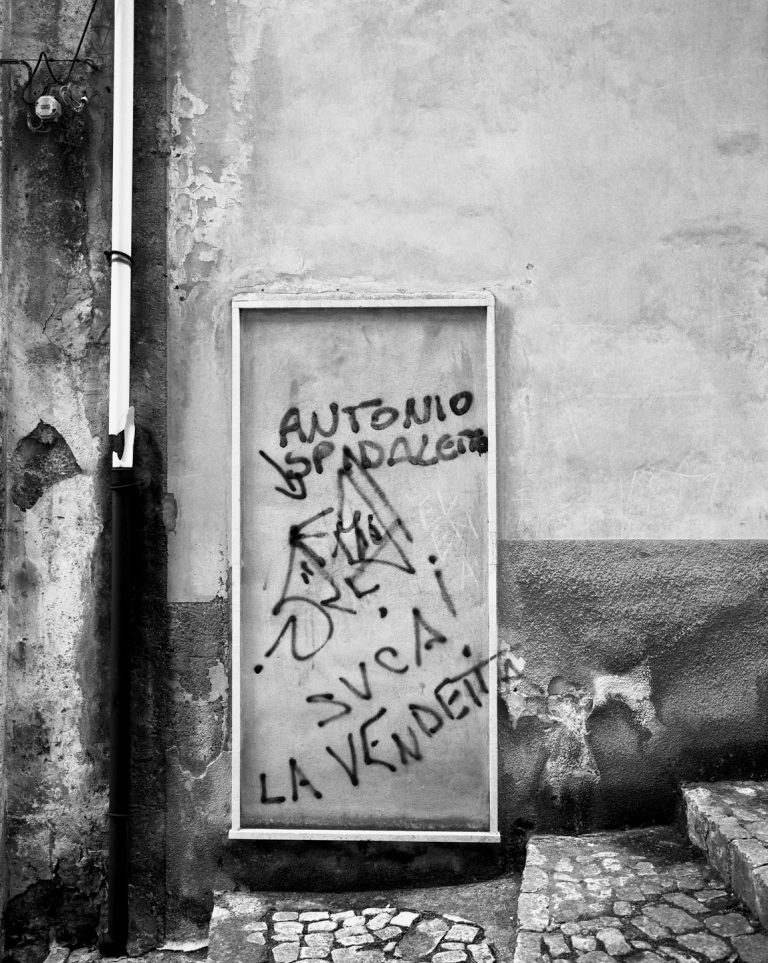 Black and White, Photograph, La Vendetta, Sicily, Italy. 2005