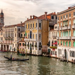 Grand Canale, Venice, Italy, Canal, July 12, 2018