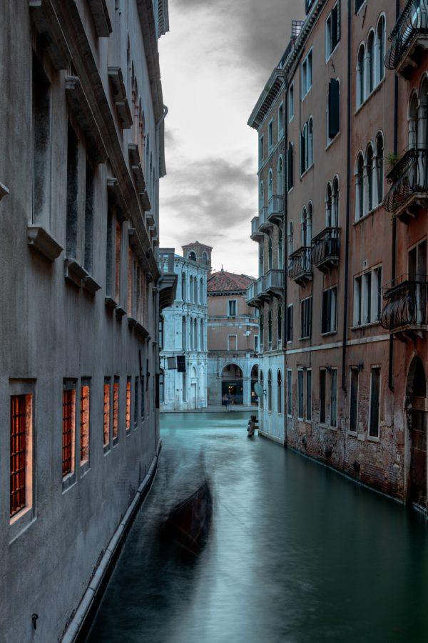 Gondola, Canale Cannaregio, Venice, Italy, July 12, 2018