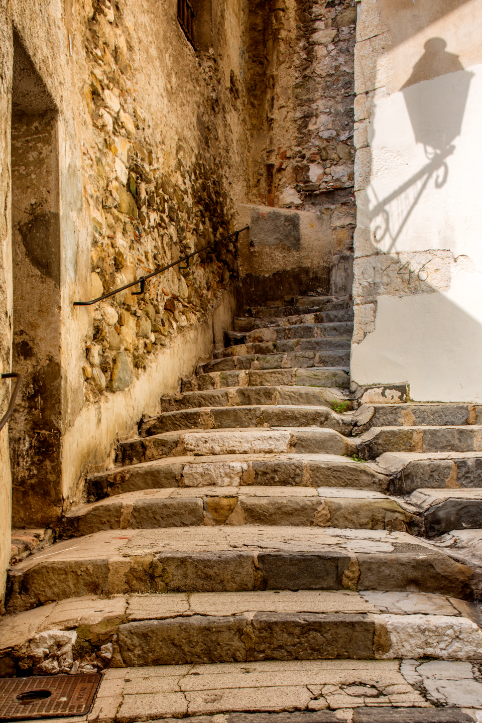 Stairs, Menton, France, October 14, 2013
