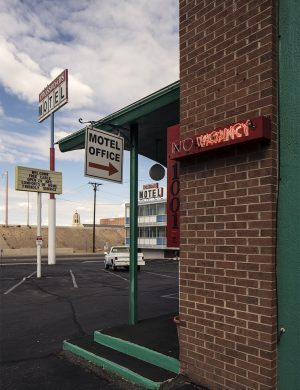 Breaking Bad Crystal Palace Color Photograph Crossroads Motel Albuquerque New Mexico