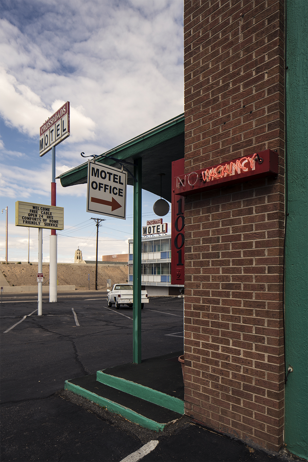Breaking Bad, Crystal Palace, Color, Photograph, Crossroads Motel, Albuquerque, New Mexico, October 24, 2015