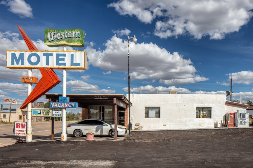 Western Motel, Vaughn, New Mexico, September 30, 2018