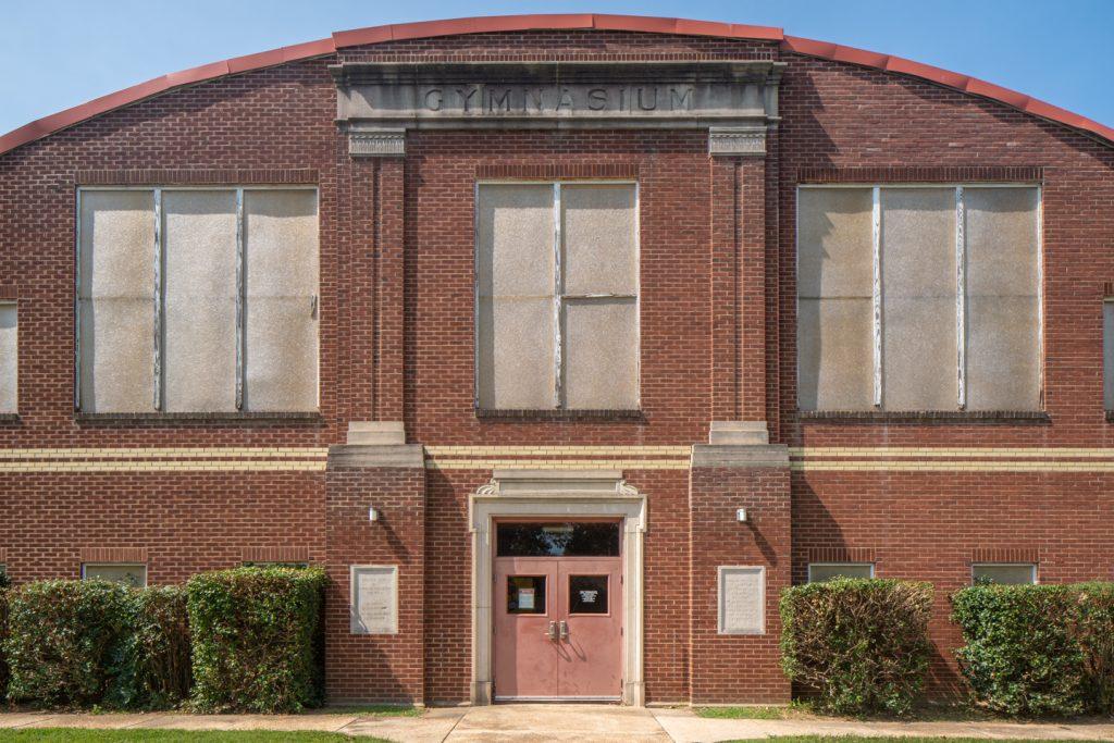 Dexter School Gymnasium Dexter Missouri PWA WPA Works Progress Administration New Deal Roosevelt midwest