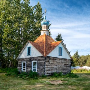 Chapel of St. Nicholas 1906, Kenai, Alaska, August 16, 2019