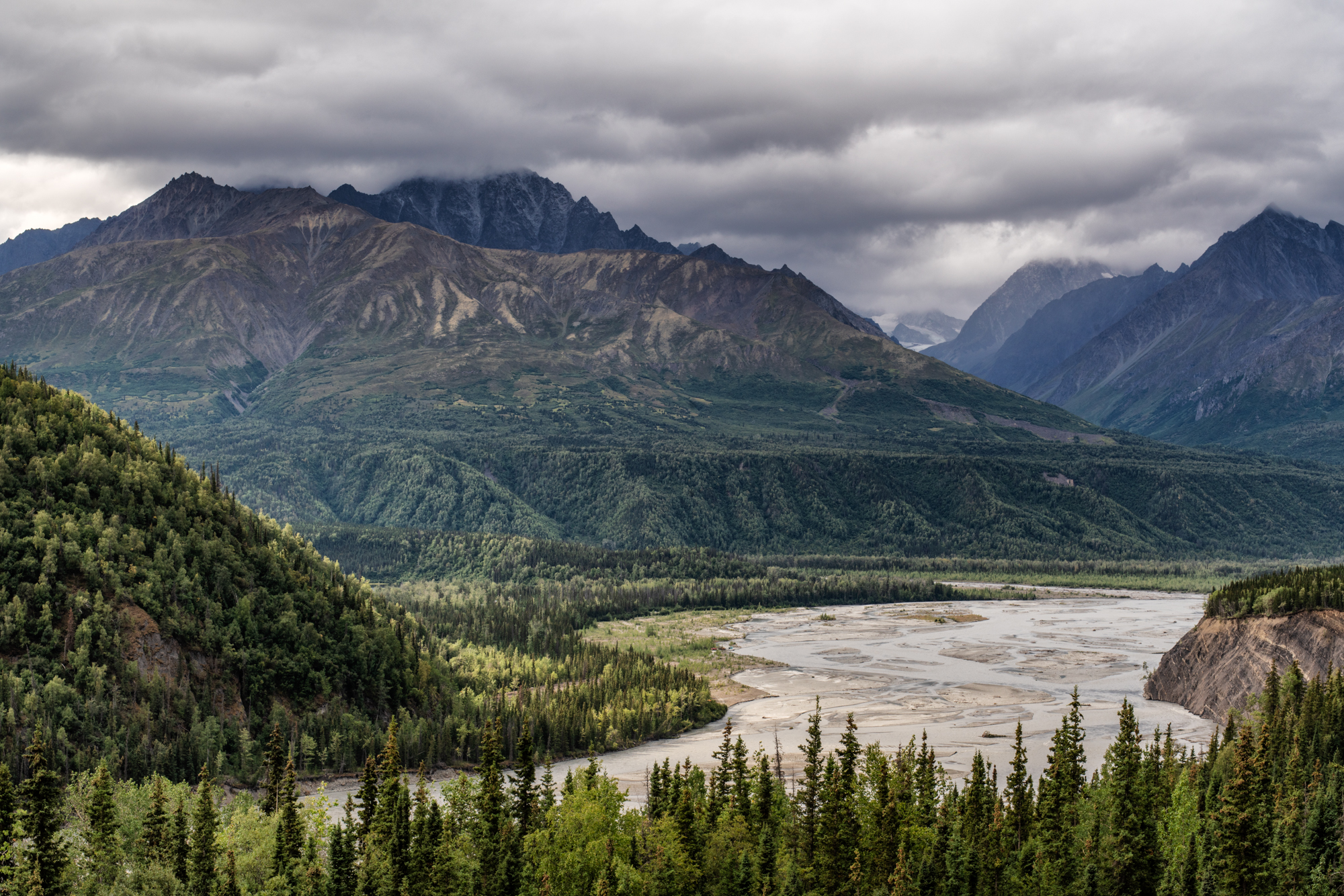 Matanuska River, Glacier View, Alaska, August 18, 2019