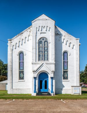 Charleston Masonic Lodge Charleston Missouri Color Archival Pigment Print Architecture Church