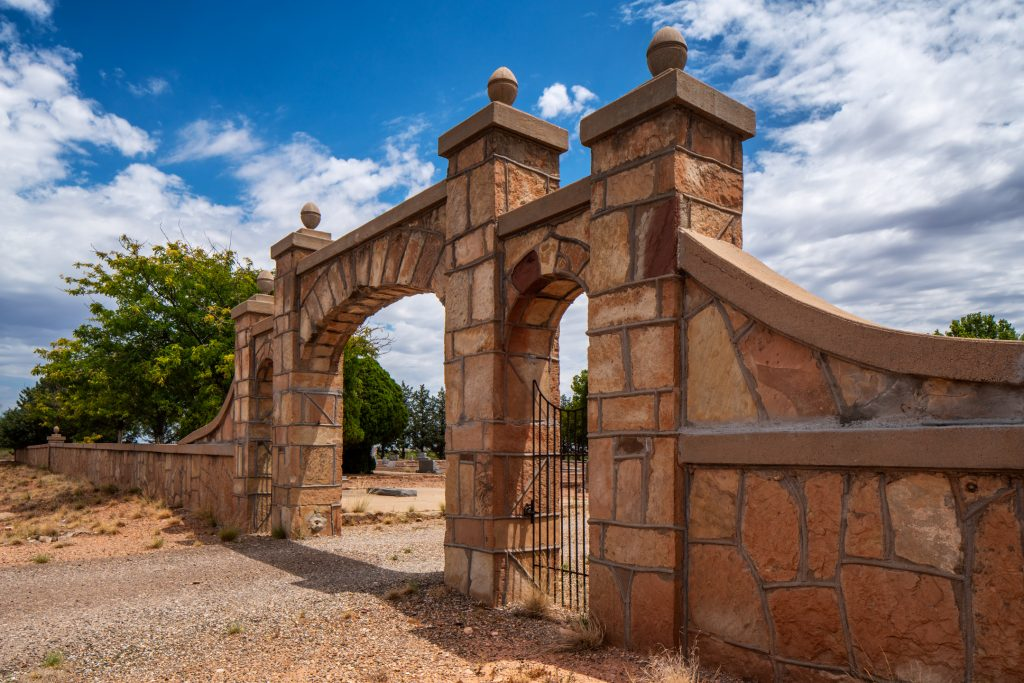 Cemetery, Fort Sumner, New Mexico, 2020