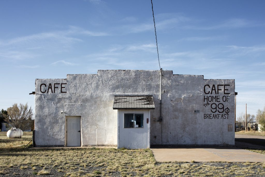 Cafe, Encino, New Mexico, 2017