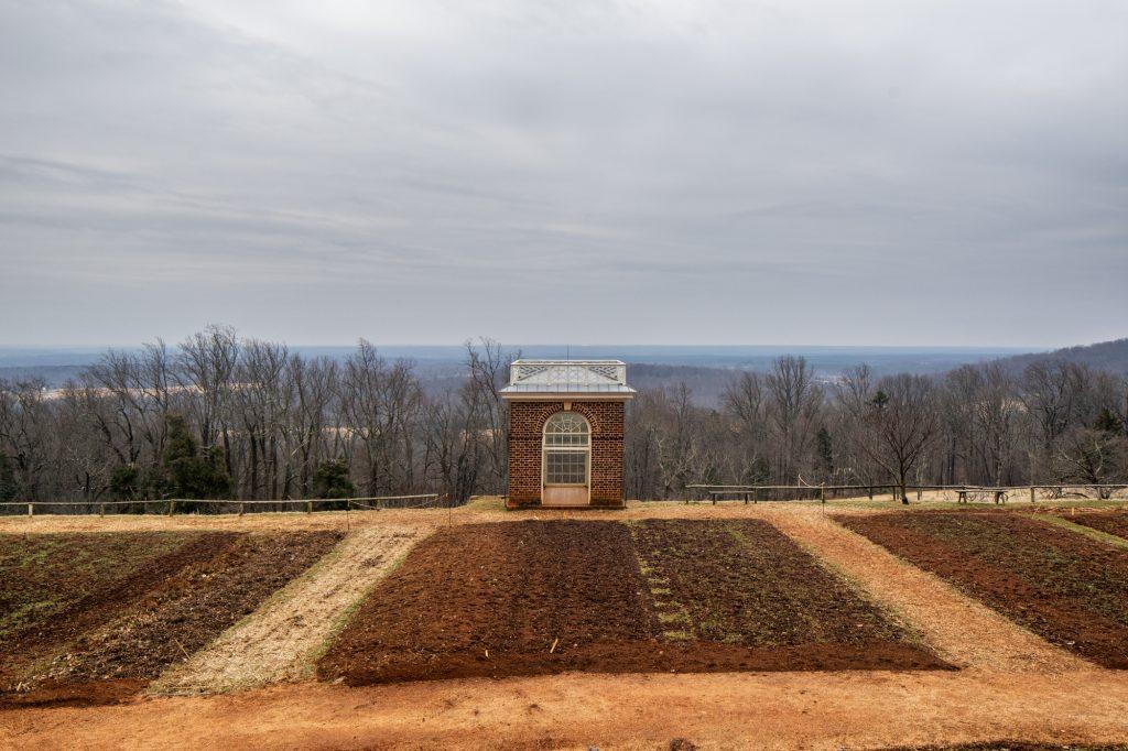 Garden Pavilion Color Print Photo Monticello Charlottesville Virginia Jefferson Classical Neoclassical Architecture