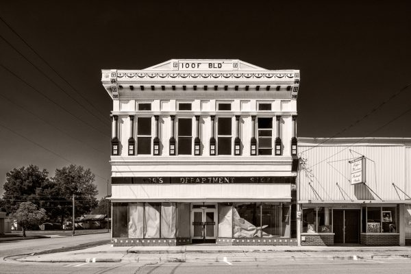 Independent Order of Odd Fellows Charleston Missouri IOOF palladium platinum print alternative historic process