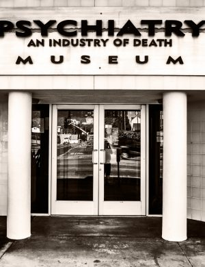 Psychiatry Industry of Death Los Angeles palladium platinum print alternative historic process urban sunset Hollywood boulevard