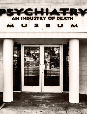 Psychiatry Industry of Death Los Angeles palladium platinum print alternative historic process urban sunset Hollywood boulevard